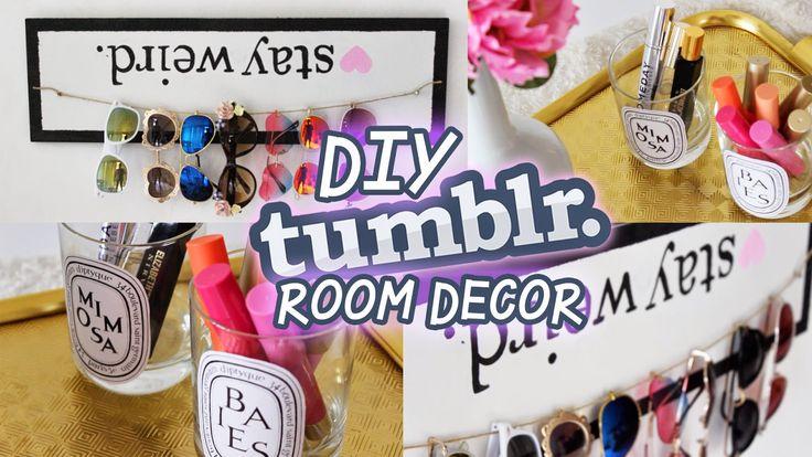Hellomaphie: DIY TUMBLR Room Decor