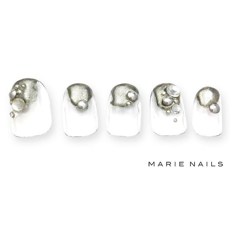 #マリーネイルズ #marienails #ネイルデザイン #かわいい #ネイル #kawaii #kyoto #ジェルネイル#trend #nail #toocute #pretty #nails #ファッション #naildesign #awsome #beautiful #nailart #tokyo #fashion #ootd #nailist #ネイリスト #ショートネイル #gelnails #instanails #newnail #cool #silver #mode