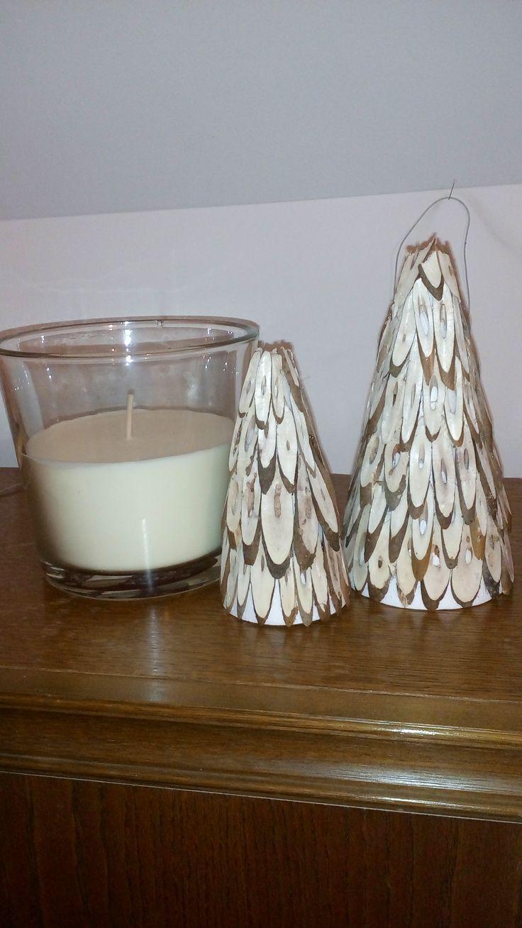 vánoční stromky - už se těším na VÁNOCE.....