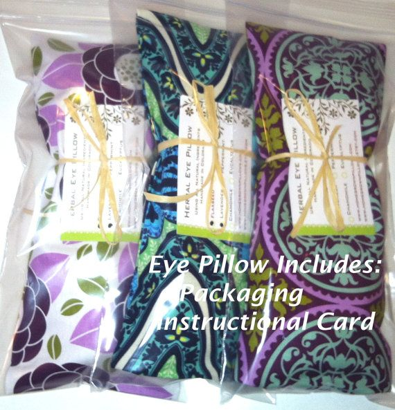 20 bulk wholesale eye pillows - removable cover - yoga  party favors