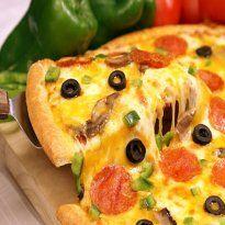 Receita de Massa de Pizza e Sugestão de Recheio