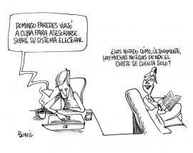 #Caricatura de #Bonil del domingo 3 de noviembre del 2013, publicada en #DiarioELUNIVERSO. #CaricaturaDeBonil  Las noticias del día en: www.eluniverso.com