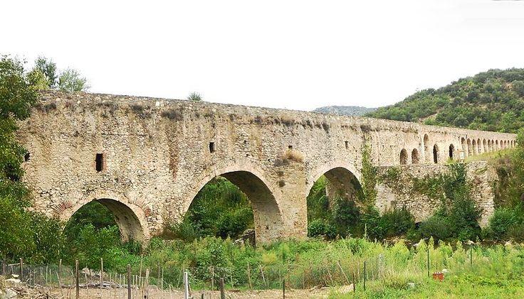 Ansignan : Aqueduc romain Pyrénées orientales - France - IIIème siècle après Jésus-Christ
