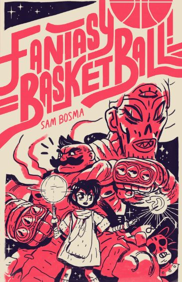 Im really happy to announce my new comic, Fantasy Basketball!, is debuting at SPX next month.  Fantasy Basketball! is a 40 page story about teamwork, dungeon-crawling, bosses, ancient tyrants, and the greatest sport in the world.  Itll be available at the show, and online shortly after. More info as the show approaches!