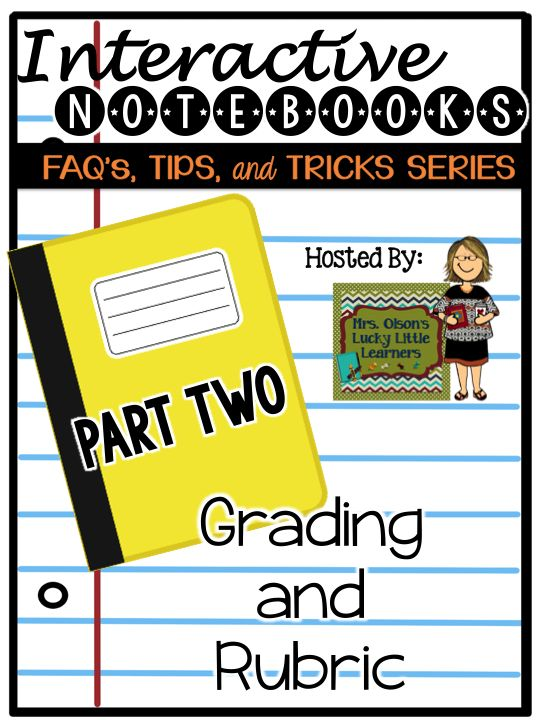 ... tips and tricks to grading and rubrics for interactive math notebooks