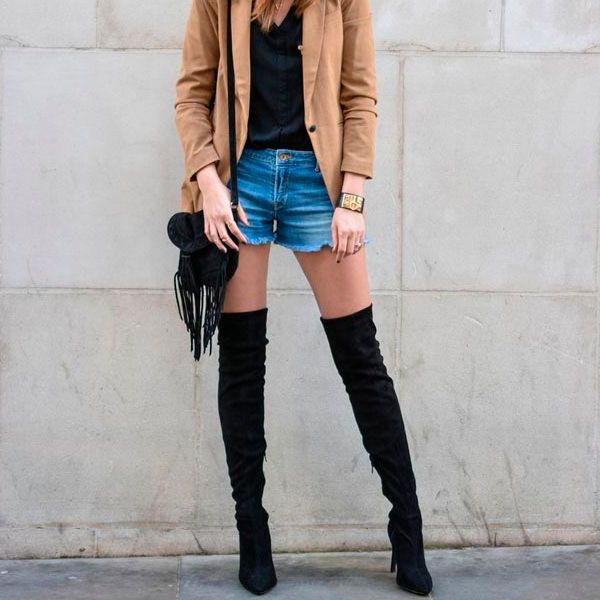 Botas Over The Knee (otk) de todas as cores.