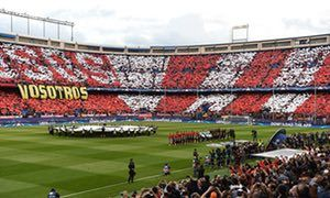 Atlético's famous old stadium witnessed its last-ever European night in familiar company, with a familiar outcome, but with the fans unbowed and in full voice