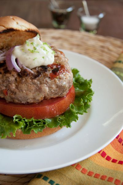Post image for Cuban Burger with Lime Mayonnaise