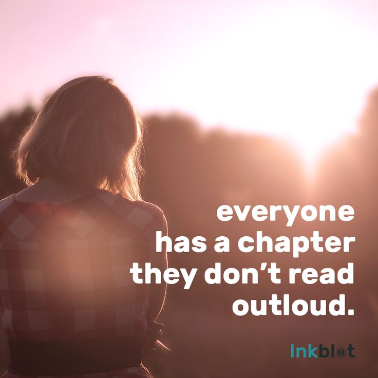 everyone has a chapter they don't read outloud