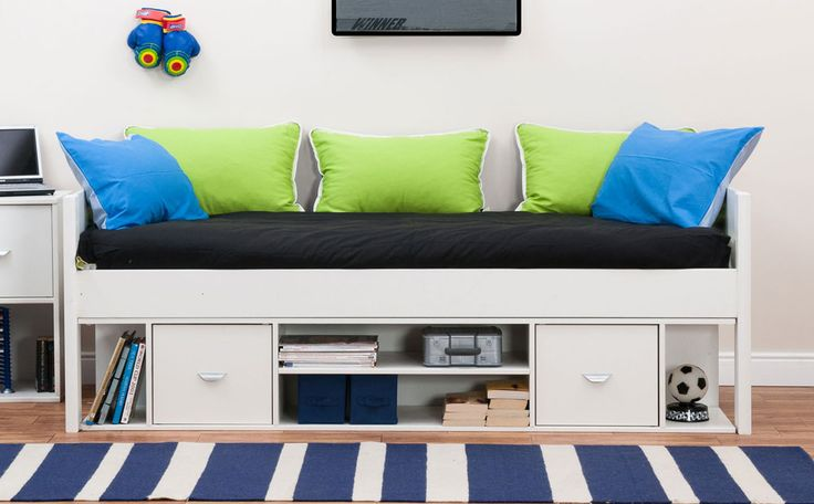 Stompa Uno White Cabin Bed Only £349.99 | Furniture Choice