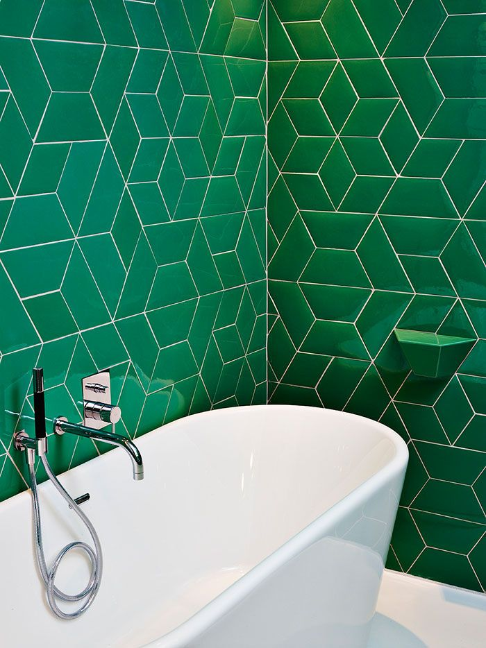 L H Tel Des Galeries Bruxelles Green Tile Bathroomsbathroom Wall Tilesideas
