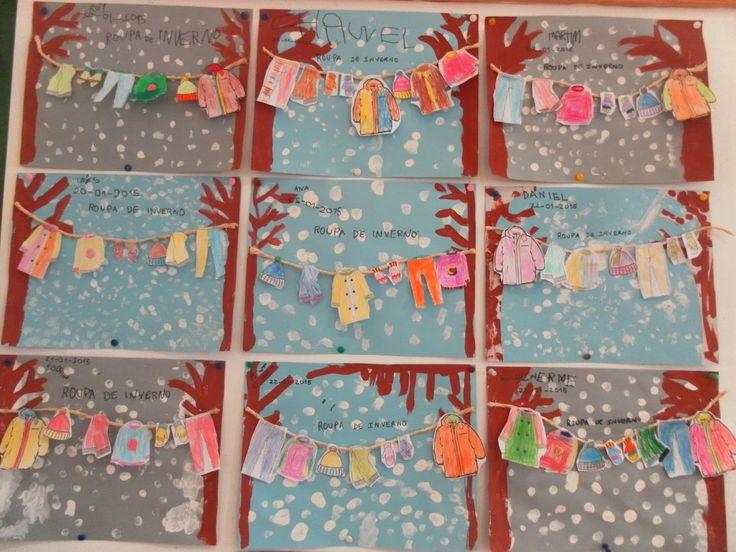 ideias para trabalhar no jardim de infancia:ideias sobre Natal Do Jardim De Infância no Pinterest