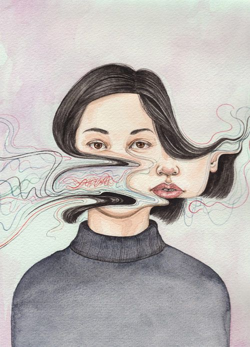 Paintings by artist Henrietta Harris.