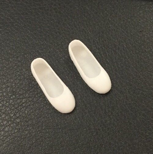 Vintage Early 1960s Mattel Barbie White Closed Toe Flats Shoes Doll Japan  | eBay