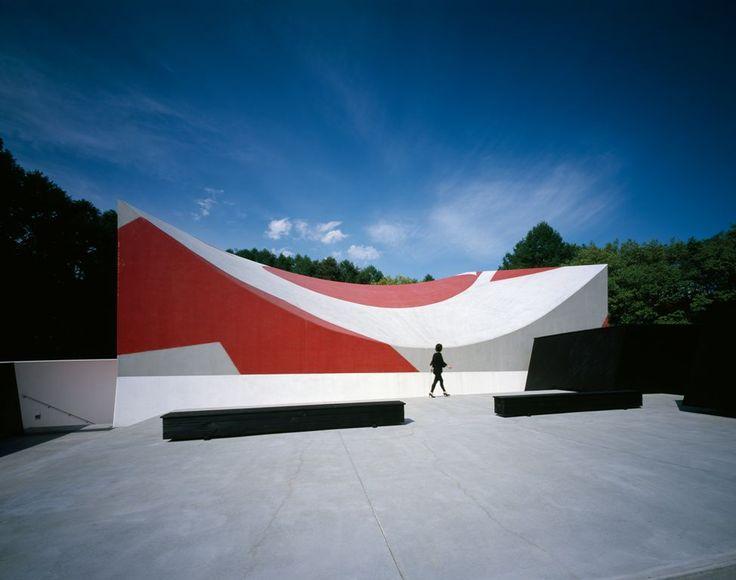 Nakamura Keith Haring Art Museum. 2007. Arch: Atsushi Kitagawara Architects