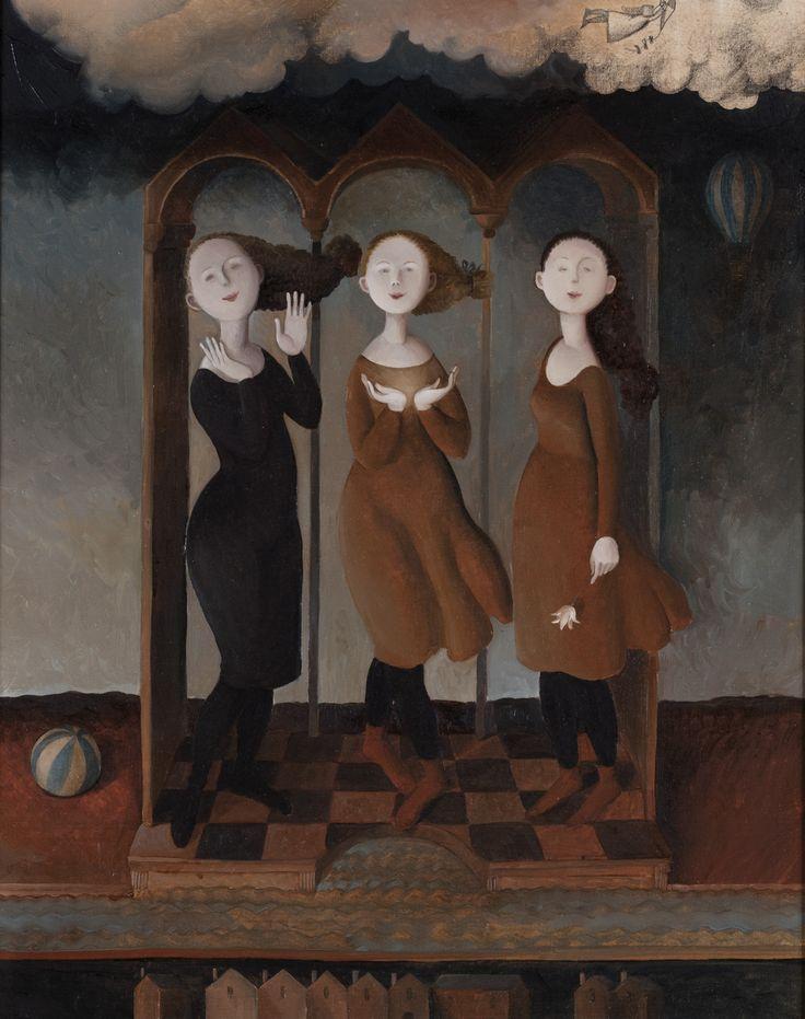 "Marta Czok - ""The three graces"""