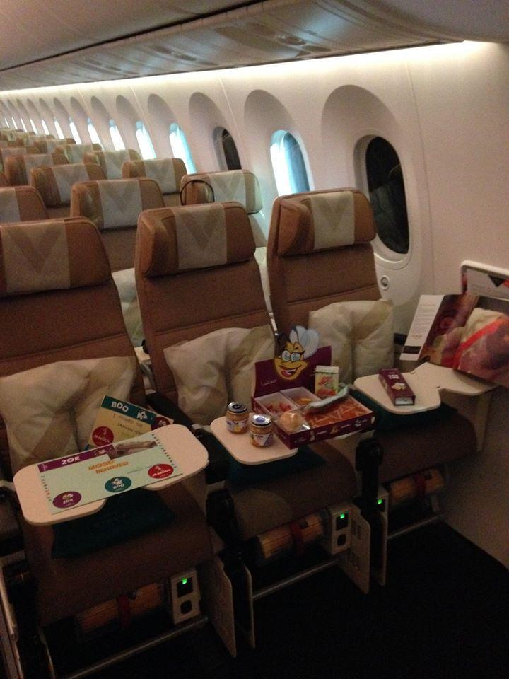 Etihad Economy Smart Seats on board our 787-9.