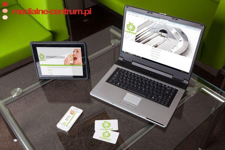 mockup dla firmy MediMed wykonany przez medialne-centrum.pl, stomatologia