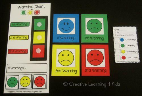 Warning Chart Cards Autism Pecs ABA | eBay