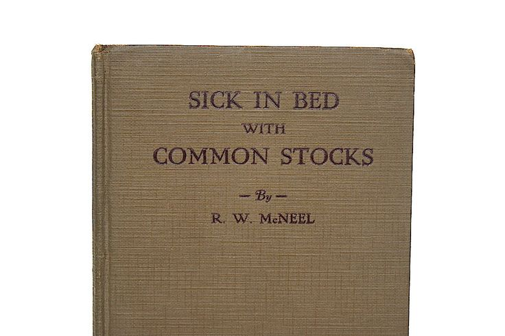 Stock Market - Crash of 1929 - Rare Stock Market Book - Investment Banker Gift - Financial History Book - Sick in Bed With Common Stocks by HappyFortuneVintage on Etsy https://www.etsy.com/listing/281739744/stock-market-crash-of-1929-rare-stock