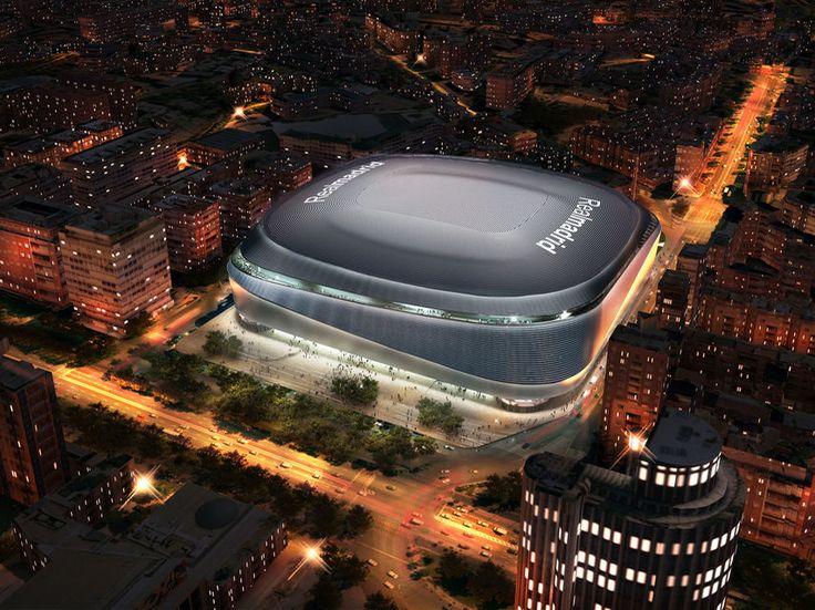 Cubierta retráctil y piel de 'plata': así será el nuevo Santiago Bernabéu