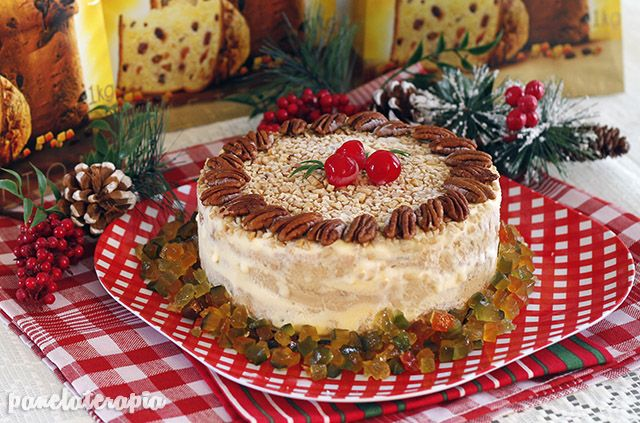 Torta Gelada de Panettone Bauducco