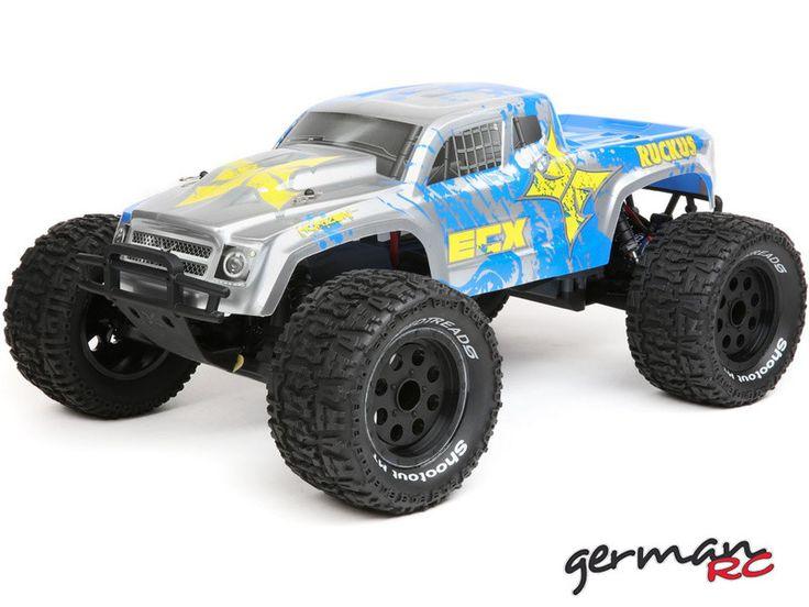 ECX Ruckus Monster Truck 2WD LiPo 1:10 RTR niebieski