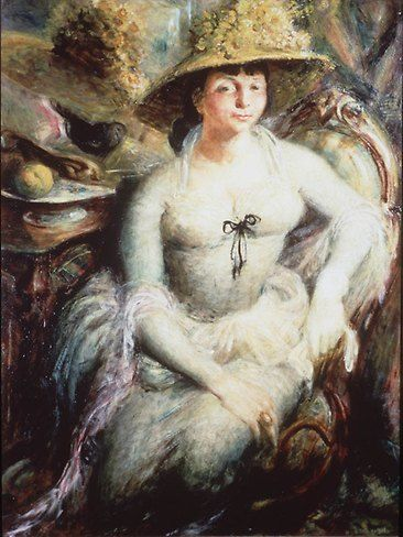 Portrait of Margaret Olley, 1948 by William Dobell.
