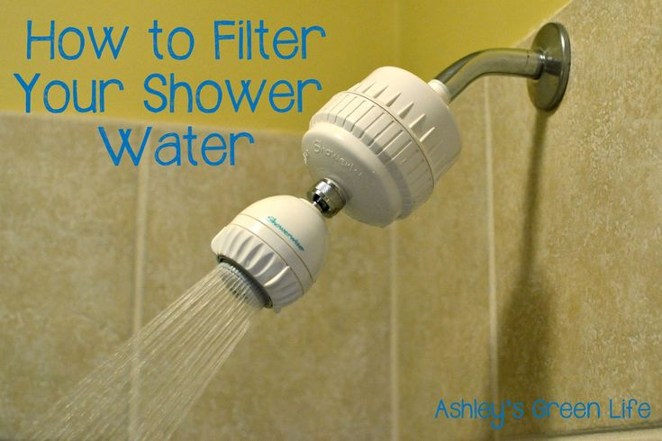 Ashley's Green Life: Filter Your Shower Water to Reduce Toxins & Improve Skin & Hair Health (Video)
