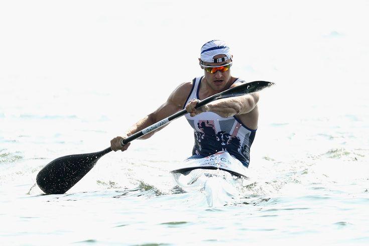Liam Heath canoe sprint individual at Rio 2016