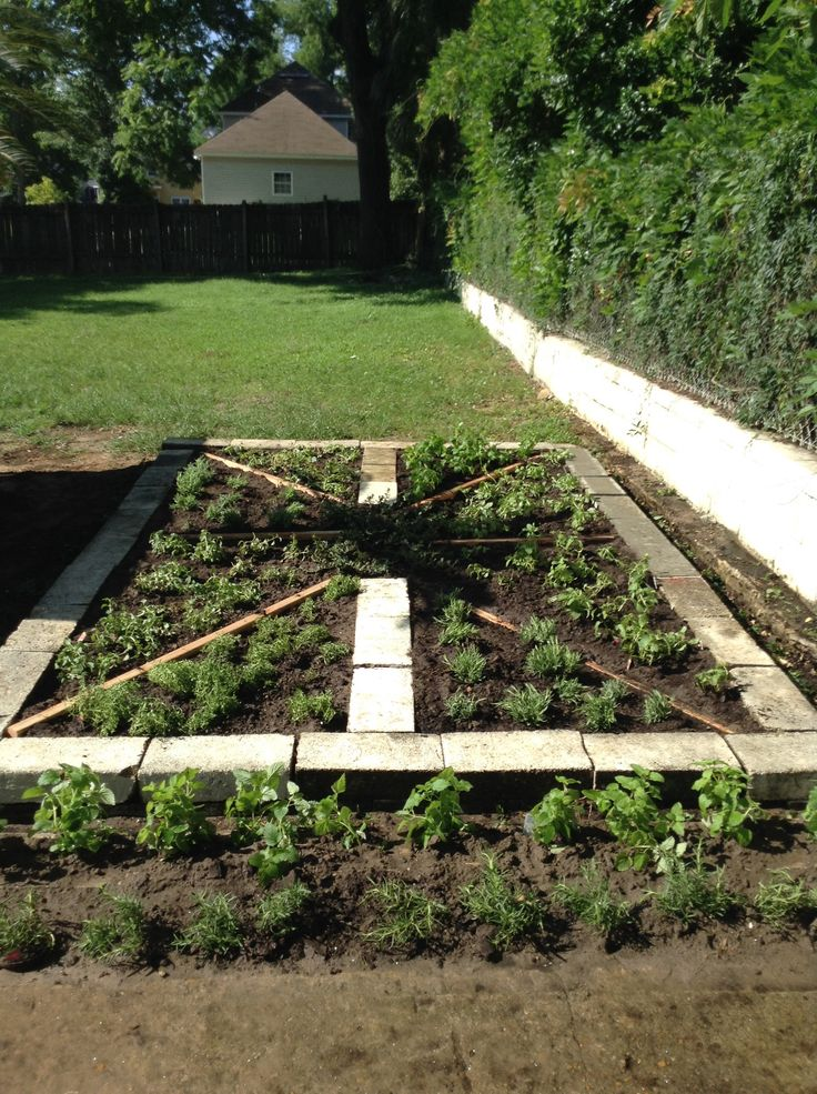 We would like to give a special thanks to Margaret Gipson for helping us with the herb garden
