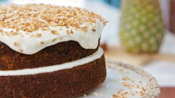 Gâteau piña colada   - Recettes de cuisine, trucs et conseils - Canal Vie