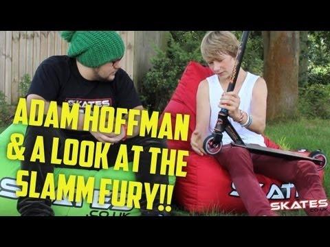 Adam Hofman & The New Slamm Fury Scooter | Scoot Fest 2012 Interview