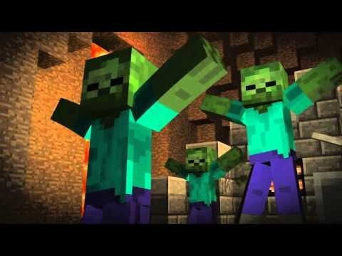 Don't Mine At Night - A Minecraft Parody of Katy Perry's Last Friday Night (Music Video)