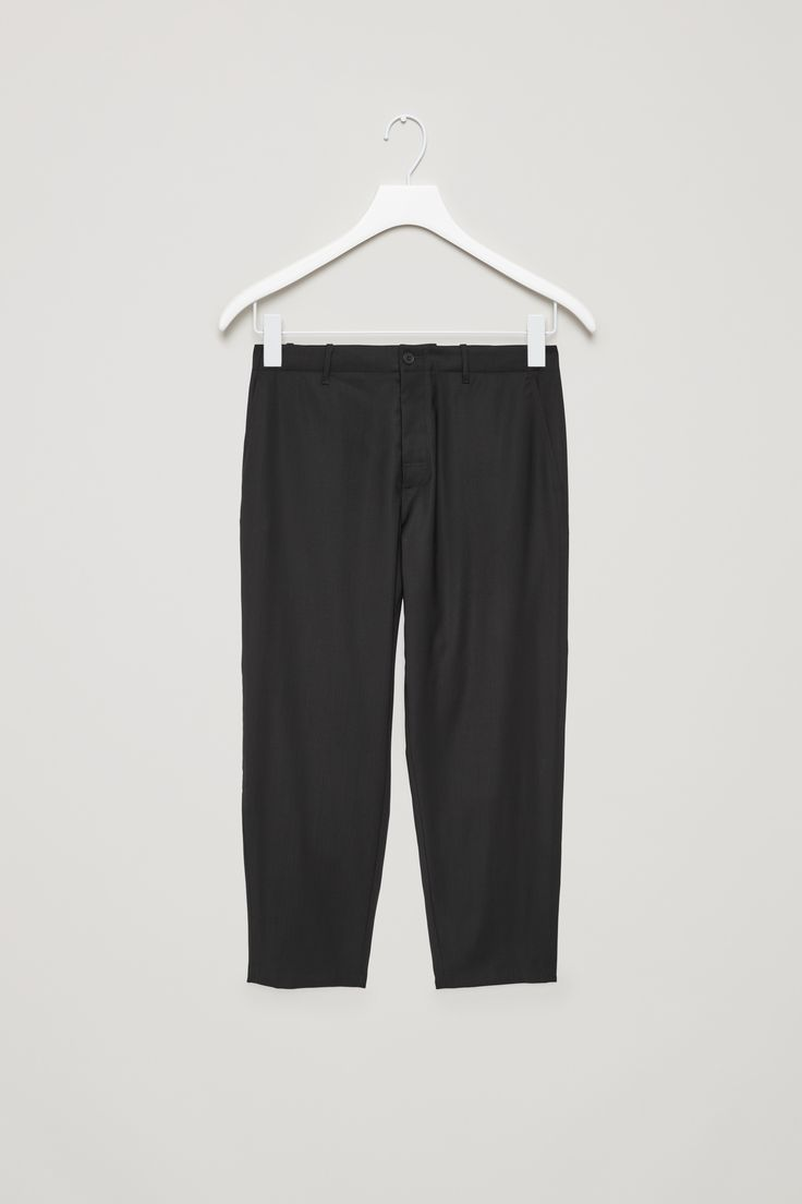 COS | Relaxed lightweight wool trousers