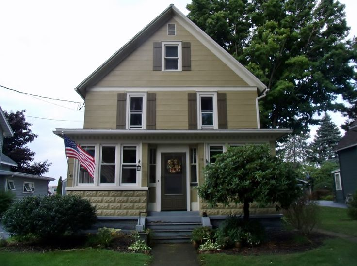 1907 simple victorian house exterior paint river bank - Exterior paint for home minimalist ...