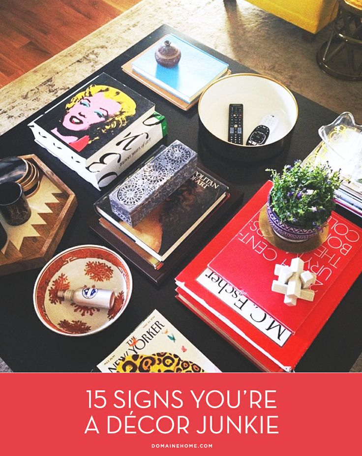 15 Tell-Tale Signs You're a Décor Junkie: Galleries, Fashion Tables, Coffee Tables, Tell Tal Signs, Interiors Design, Le Petitchouchou, Signs You R, Coff Tables, Bungalows Styles