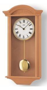 Reloj de pared moderno con mecanismo a cuarzo de AMS AM W990/16