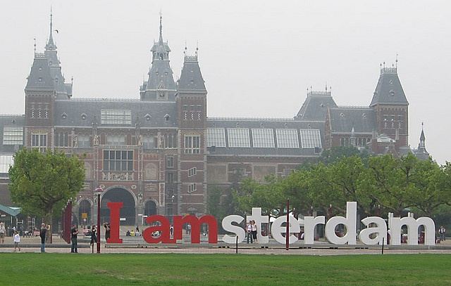 Reichsmuseum, Amsterdam. After this, go to the Heineken brewery - after that, anything goes.