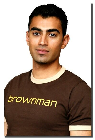 Our staple brownman74 shirt printed on American Apparel.