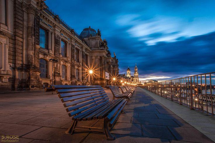 Photo windy day - Brühlsche Terrasse Dresden by Sebastian Rose on 500px