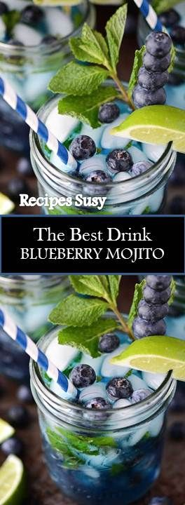 ★★★★★ 912 reviews : Recipe Susy ==> BLUEBERRY MOJITO #BLUEBERRY #MOJIT…