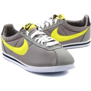 huge selection of c3544 7c65e mens nike cortez yellow grey