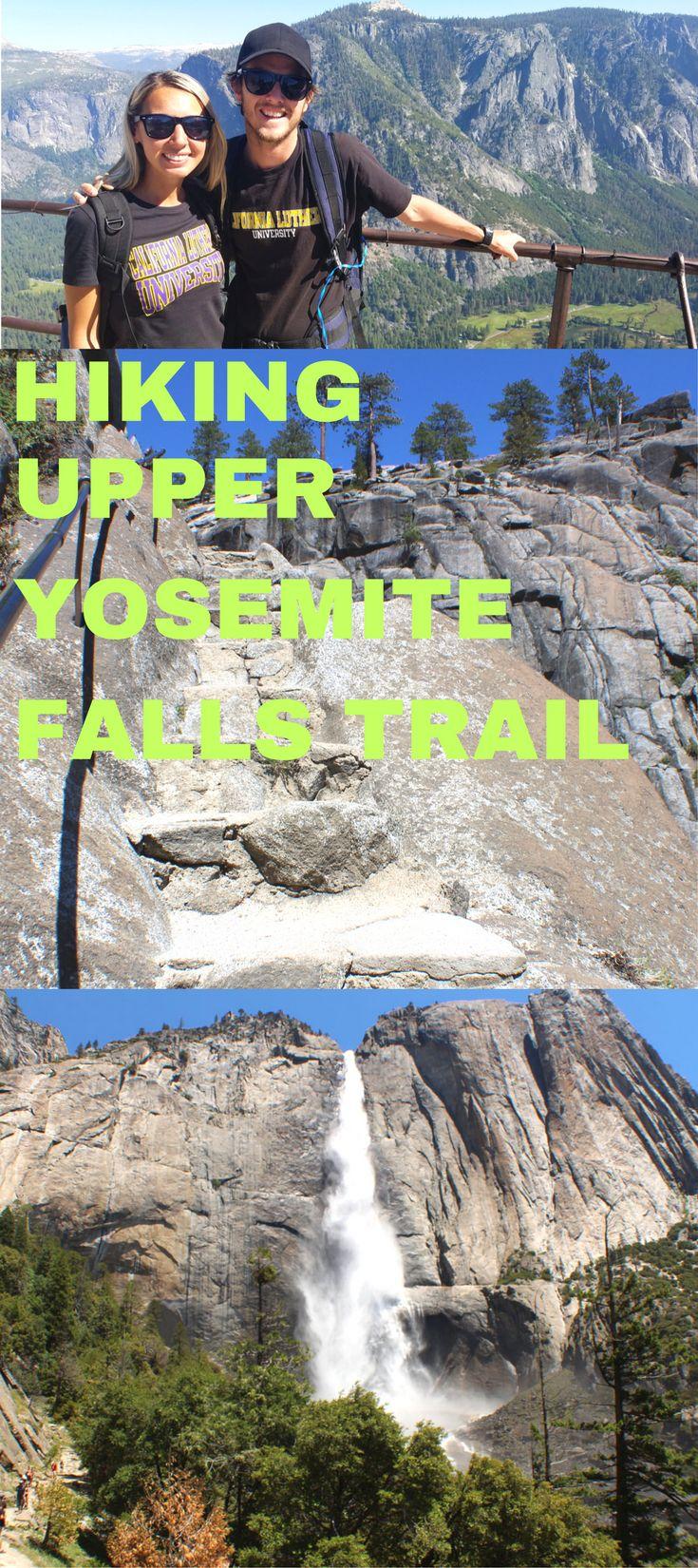 Hiking The Upper Yosemite Falls Trail in
