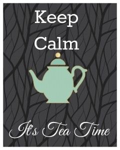 For you Linda G - I have tried to like tea but alas only can handle the iced tea - but love my coffee the same way you love your tea....