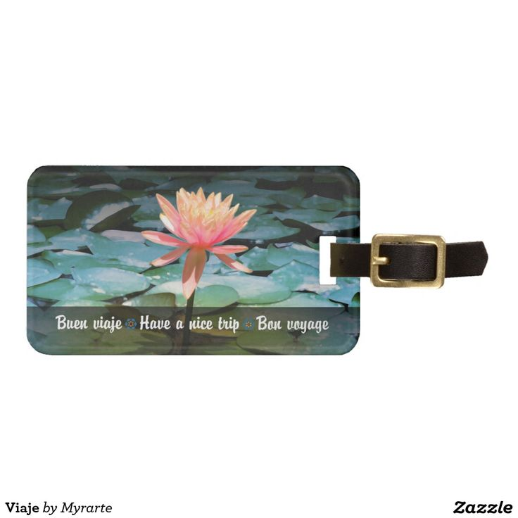 Trip Travel. Producto disponible en tienda Zazzle. Product available in Zazzle store. Regalos, Gifts. Link to product: http://www.zazzle.com/trip_tag_for_luggage-256120619697368903?CMPN=shareicon&lang=en&social=true&rf=238167879144476949 #Bag #Tags #flores #loto #lotus #flowers #viaje #travel