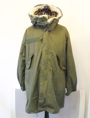 1977 US M65 Fishtail Parka Extreme Cold Weather System £120 ...