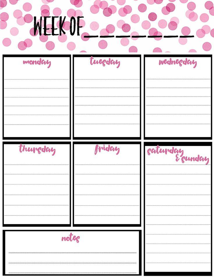 Calendar Planner Printable Sia : Besten planners bullet journals bilder auf pinterest