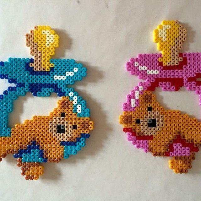 Pacifiers hama beads by sckaziepigen