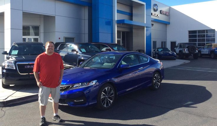Thank you, Darren for the opportunity to help you with your new 2016 HONDA ACCORD!  All the best, Findlay Chevy Buick GMC and David Phillips.